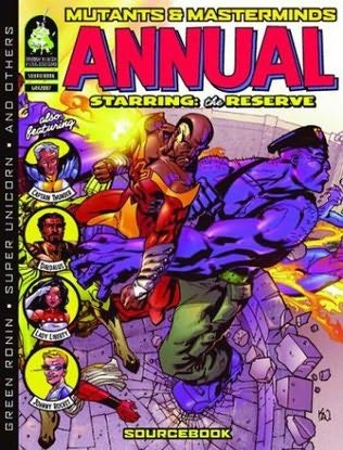 book cover of Mutants & Masterminds Annual