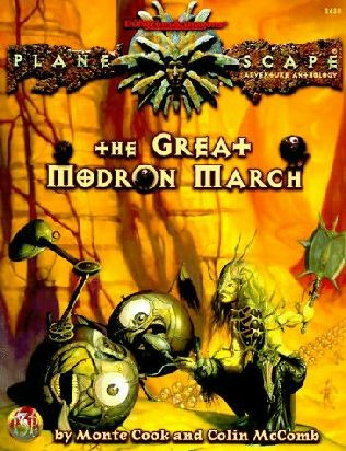 book cover of The Great Modron March