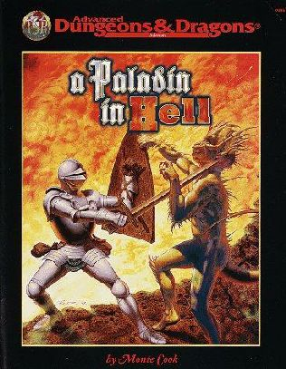 book cover of A Paladin in Hell