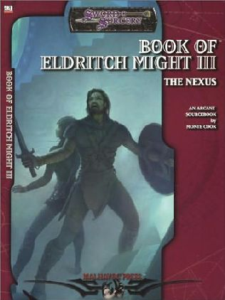 book cover of Book of Eldritch Might III the Nexus