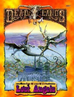book cover of Dead Lands, Lost Angels
