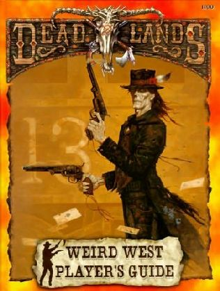 book cover of The Weird West Player\'s Guide