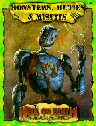book cover of Monsters, Muties, and Misfits