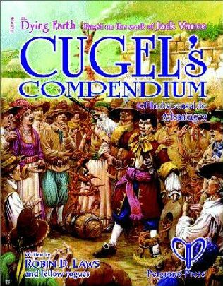 book cover of Cugel\'s Compendium of Indispensable Advantages