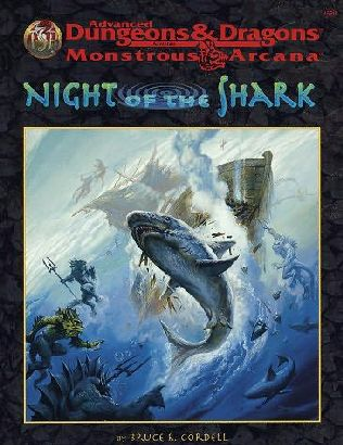 book cover of Night of the Shark