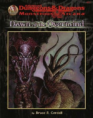 book cover of Dawn of the Overmind