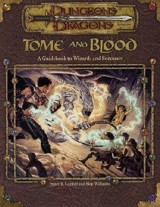 book cover of Tome and Blood