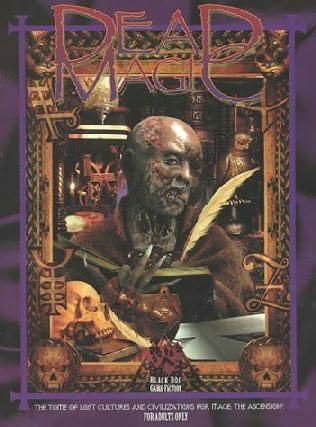 book cover of Dead Magic