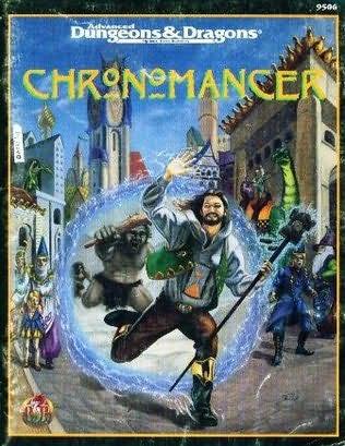 book cover of Chronomancer