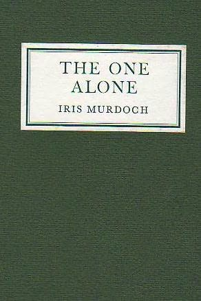 book cover of The One Alone