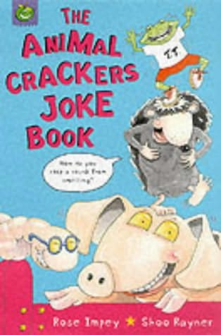 book cover of The Animal Crackers Joke Book