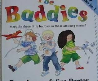 book cover of The Baddies