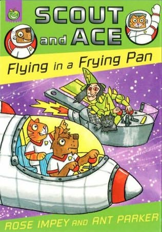 book cover of Flying in a Frying Pan