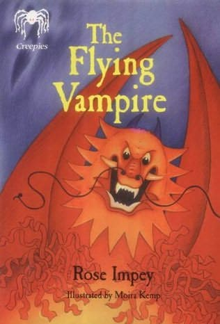book cover of The Flying Vampire
