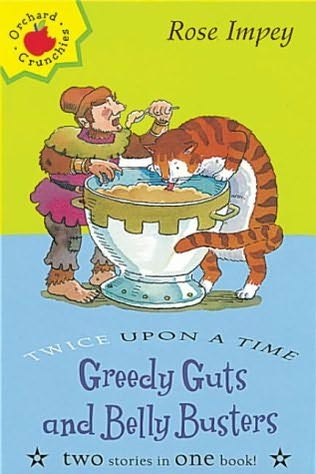 book cover of Greedy Guts and Belly Busters