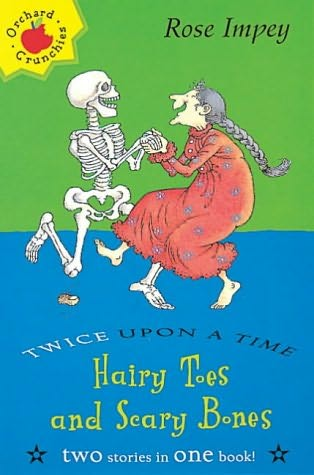 book cover of Hairy Toes and Scary Bones