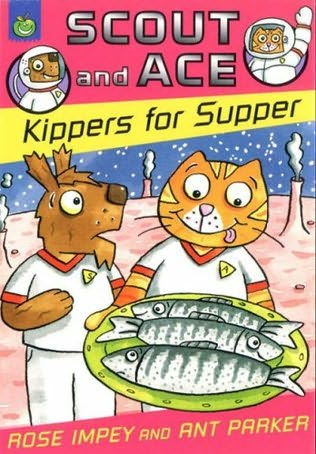 book cover of Kippers for Supper
