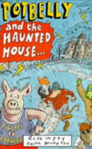 book cover of Potbelly and the Haunted House