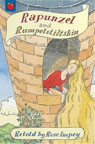 book cover of Rapunzel / Rumpelstiltskin