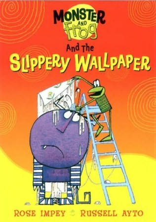 book cover of The Slippery Wallpaper