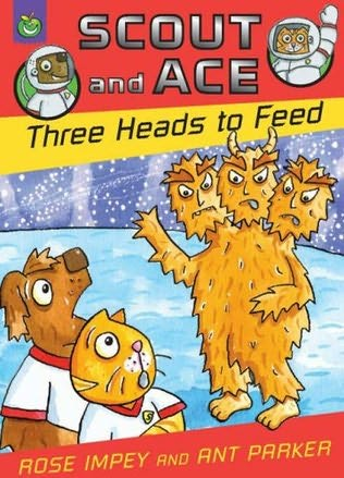 book cover of Three Heads to Feed