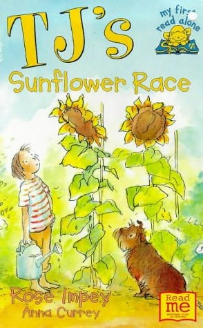 book cover of TJ\'s Sunflower Race