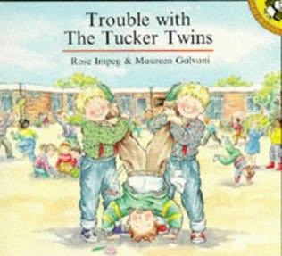 book cover of Trouble with the Tucker Twins
