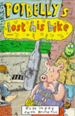 book cover of Potbelly\'s Lost His Bike