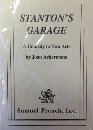 book cover of Stanton\'s Garage