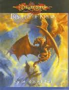 book cover of Bestiary of Krynn