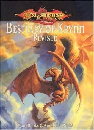book cover of Dragonlance Bestiary of Krynn Revised