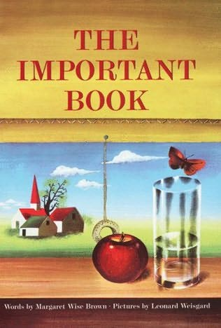 book cover of The Important Book