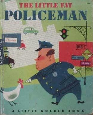 book cover of The Little Fat Policeman
