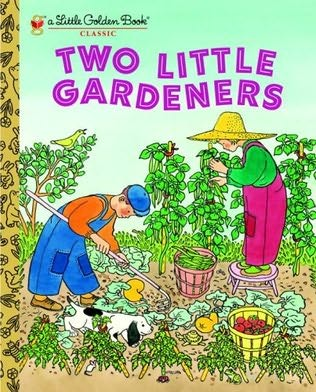book cover of Two Little Gardeners