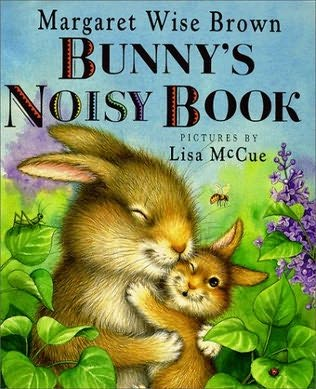 book cover of Bunny\'s Noisy Book