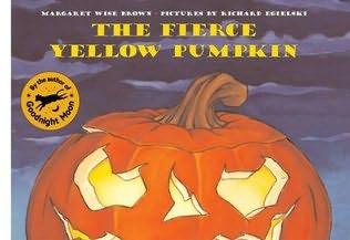 book cover of The Fierce Yellow Pumpkin