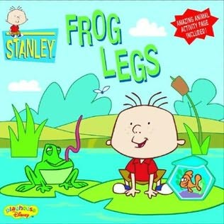 book cover of Frog Legs