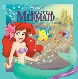 book cover of Disney\'s the Little Mermaid