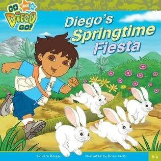 book cover of Diego\'s Springtime Fiesta