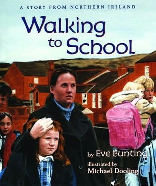 book cover of Walking To School