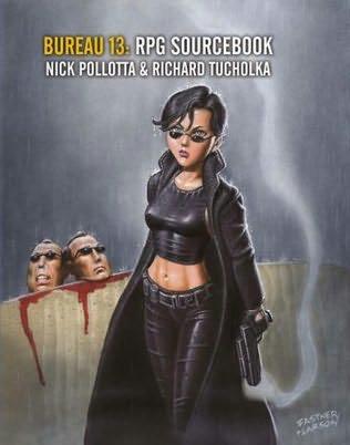 book cover of The Bureau 13 Sourcebook
