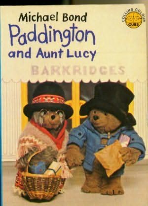 book cover of Paddington and Aunt Lucy