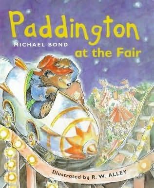 book cover of Paddington at the Fair