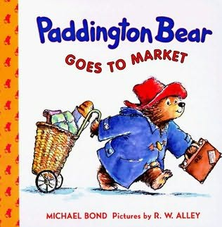 book cover of Paddington Bear Goes to Market
