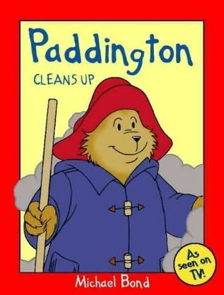 book cover of Paddington Cleans Up