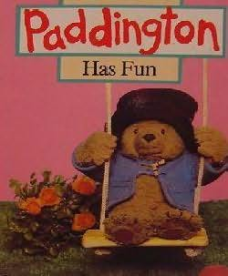 book cover of Paddington Has Fun