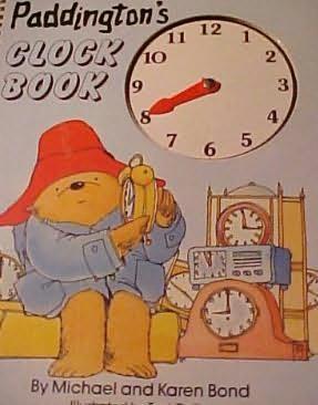 book cover of Paddington\'s Clock Book