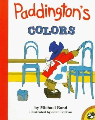 book cover of Paddington\'s Colours