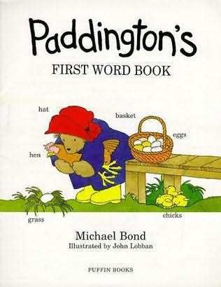 book cover of Paddington\'s First Word Book