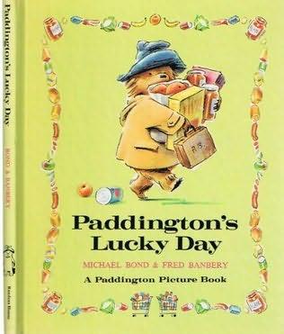 book cover of Paddington\'s Lucky Day